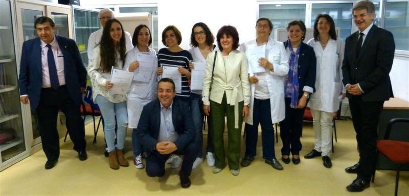 Seis profesionales del centro de salud badajoz san roque for Centro de salud ciudad jardin badajoz